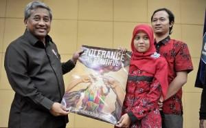 Pelepasan Tim Olimpiade Pelajar Indonesia