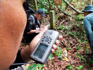 Mengecek Batas Hutan Konservasi