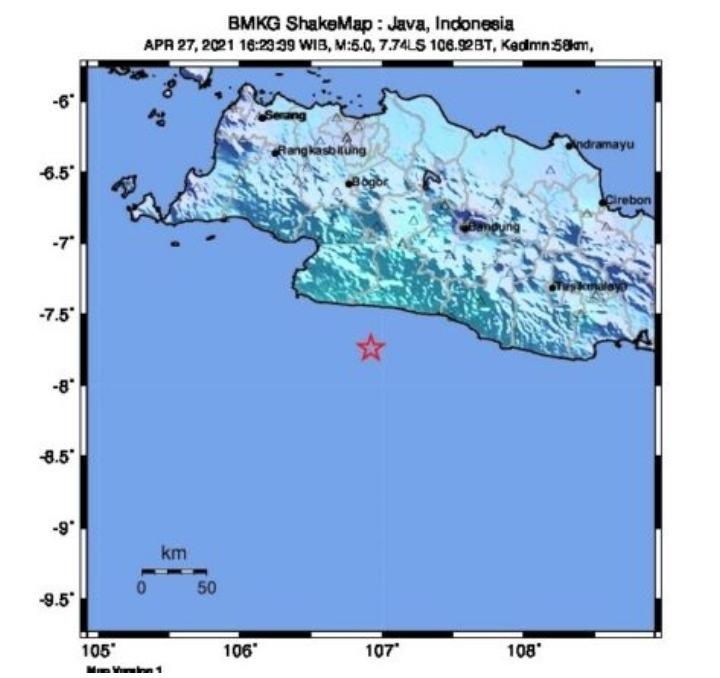 Dua Gempa Di Selatan Jawa Dari Sumber Berbeda Rumah Pengetahuan